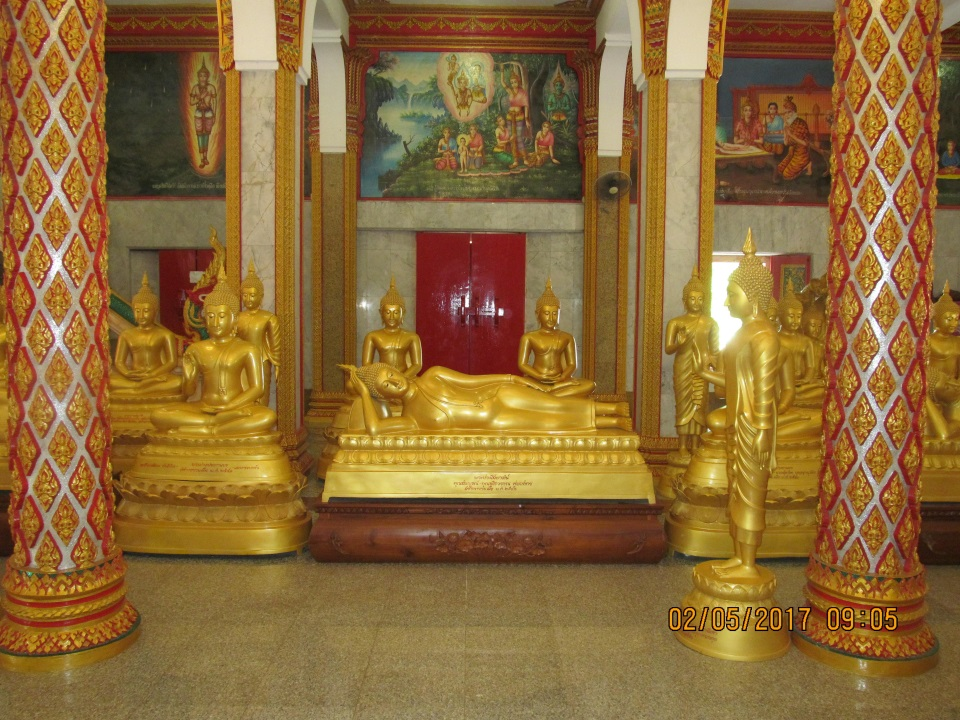 Chalong Buddhist temple