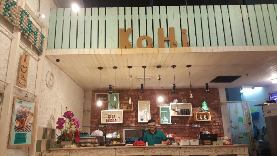 Cute cafe in Kuala Lumpur