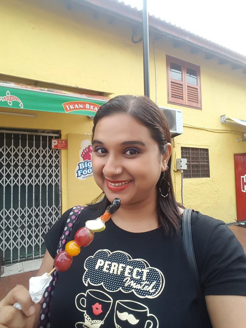Fruit candy in Melaka