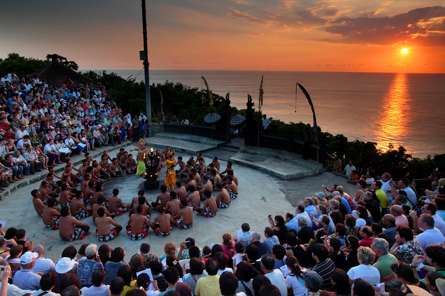 The traditional Kecak Dance is a Bali Tourist Attraction
