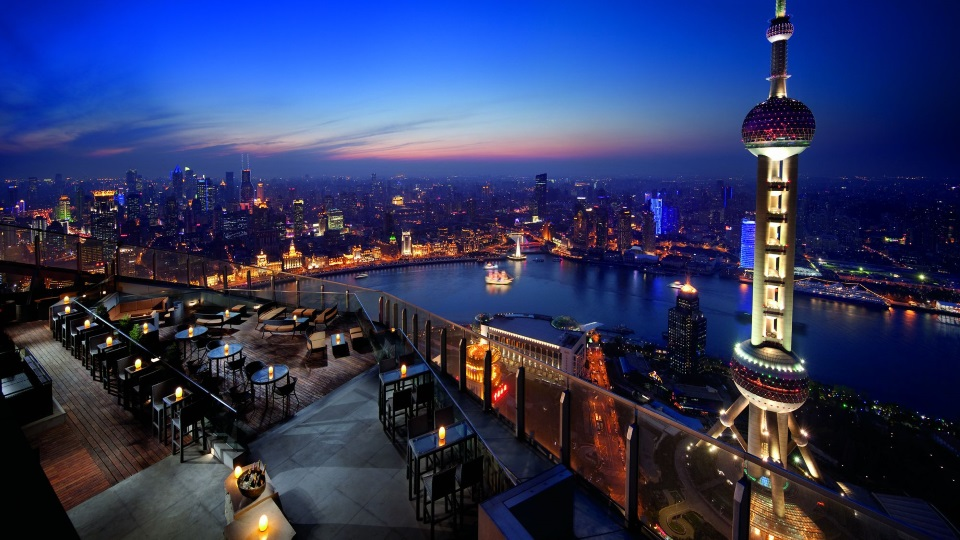 Panoramic views of Shanghai