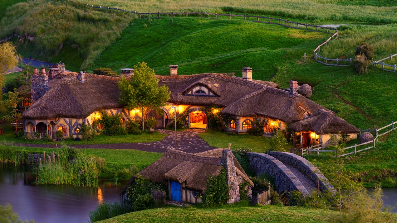 A honeymoon destination in New Zealand for The Hobbit fans