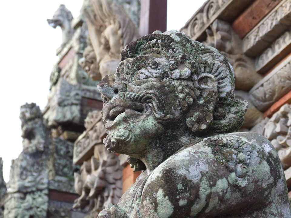 Lempad sculptures are a Bali Tourist Attraction