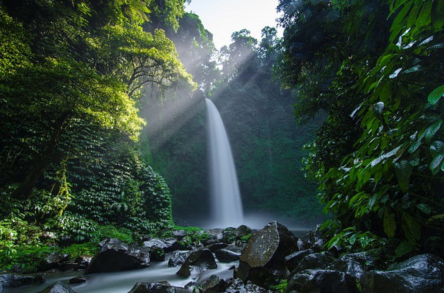 Nungnung Falls - A Bali Tourist Attraction