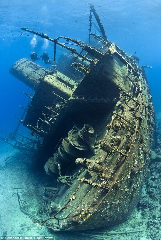 USS Lberty Shipwreck - A Bali Tourist Attraction