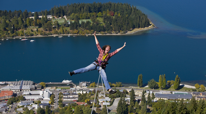 things to do in Queenstown, Queenstown, New Zealand, Bungy jumping, Bungee jumping