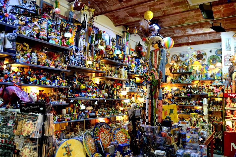 Las Ramblas shop