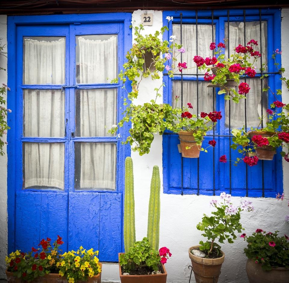 House patios in Cordoba