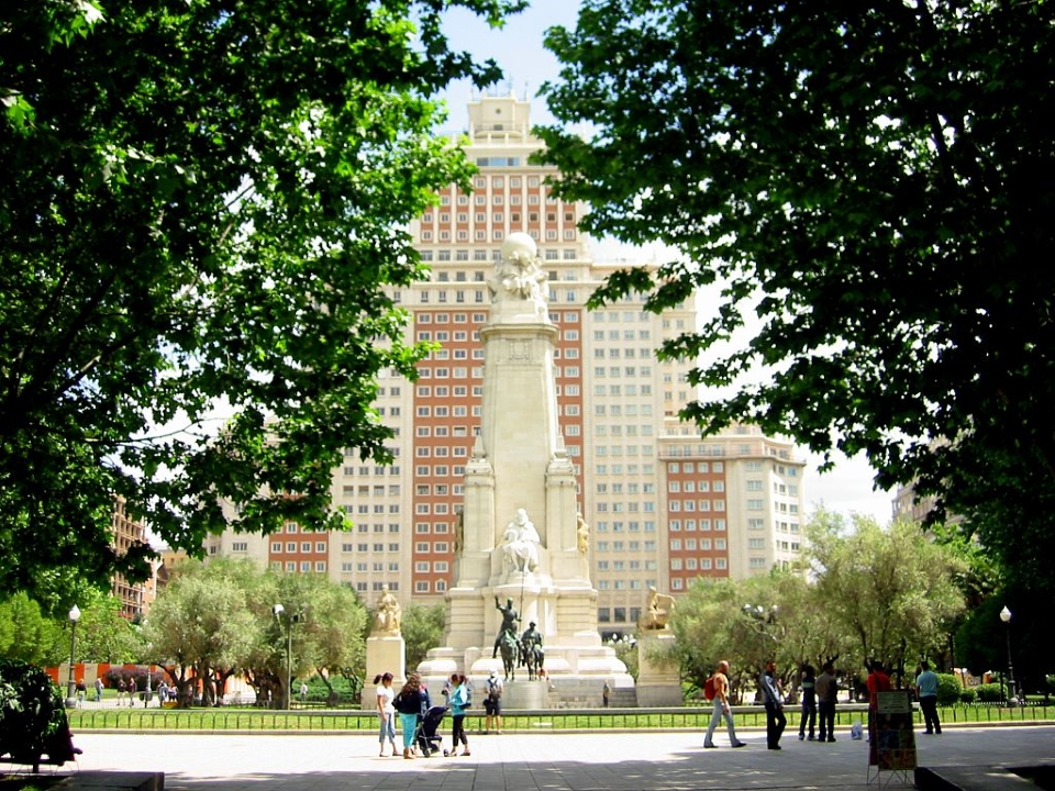 Plaza de España in Madrid