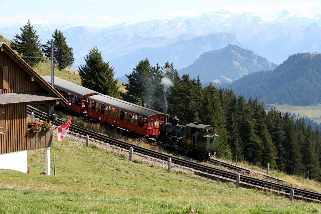 Switzerland train