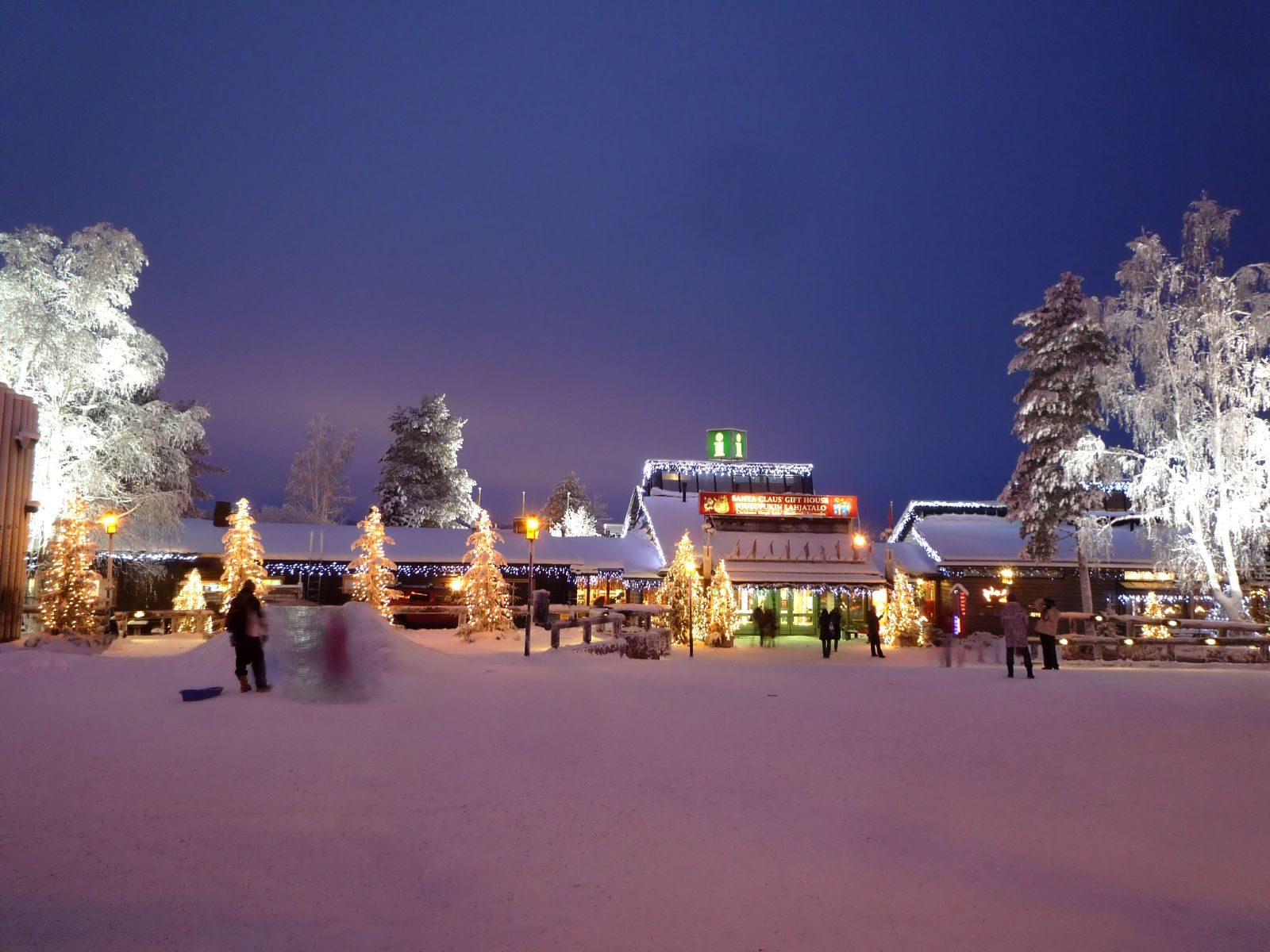 Santa Claus Village, Finland during Christmas