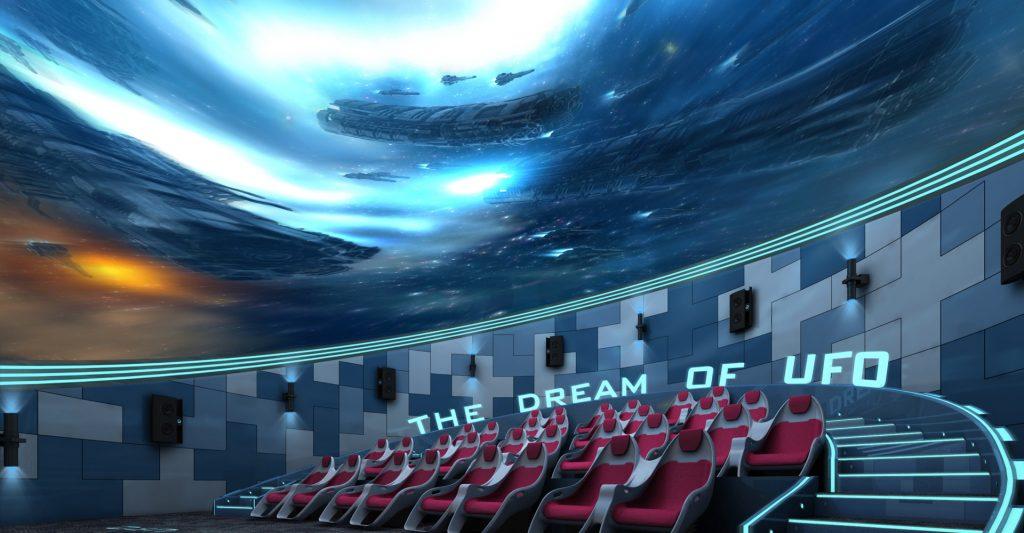 virtual reality theme park