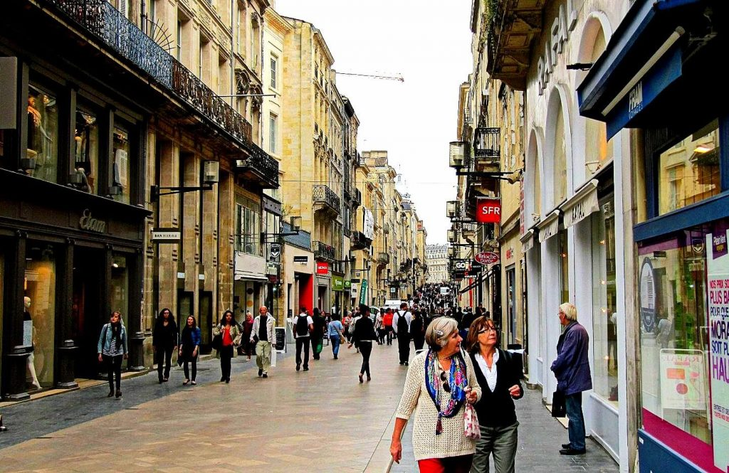 things to do in Bordeaux, Rue Sainte-Catherine