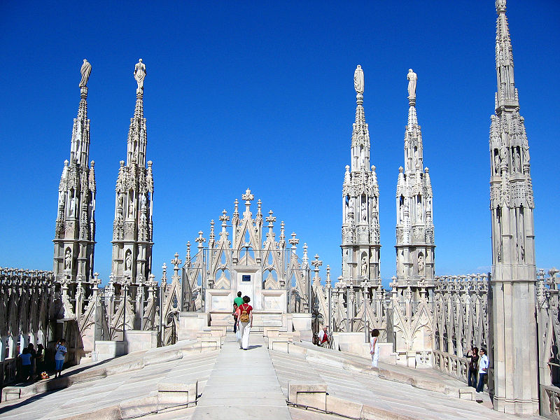 Duomo's Roof,Italy,top things to do in Milan