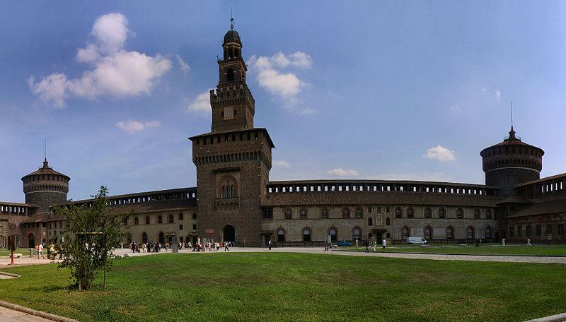 Castello Sforzesco,top things to do in Milan,Italy