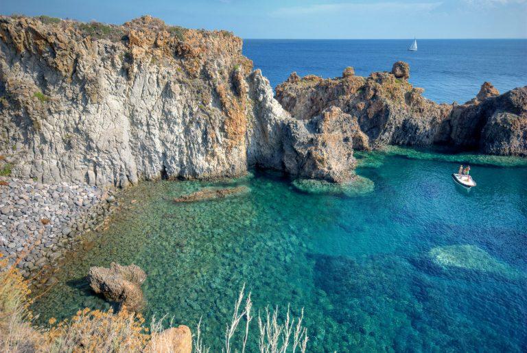 Capo Graziano,italy beach holidays