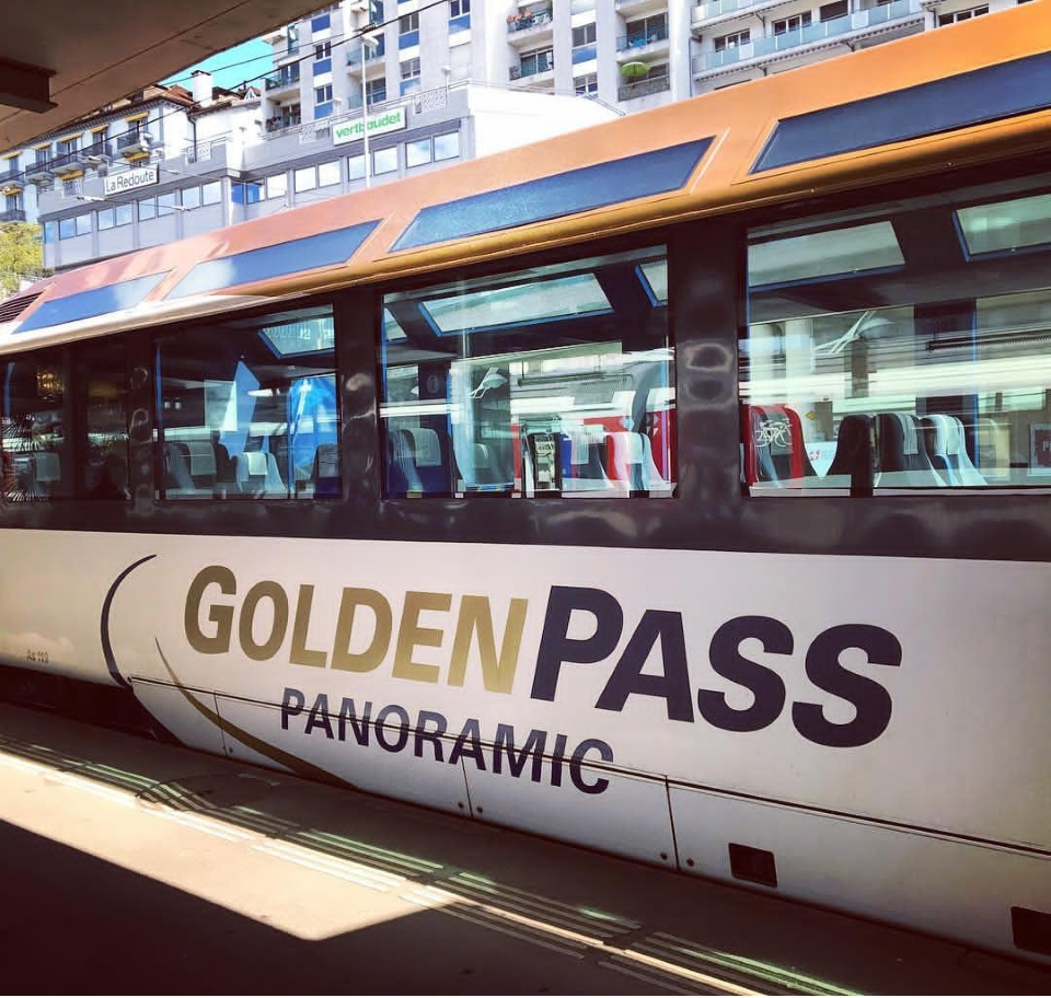 Golden Pass Panoramic train