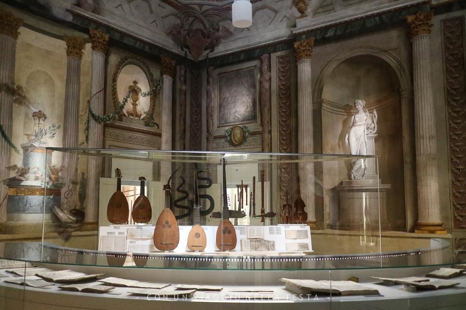 Inside Museo della Musica