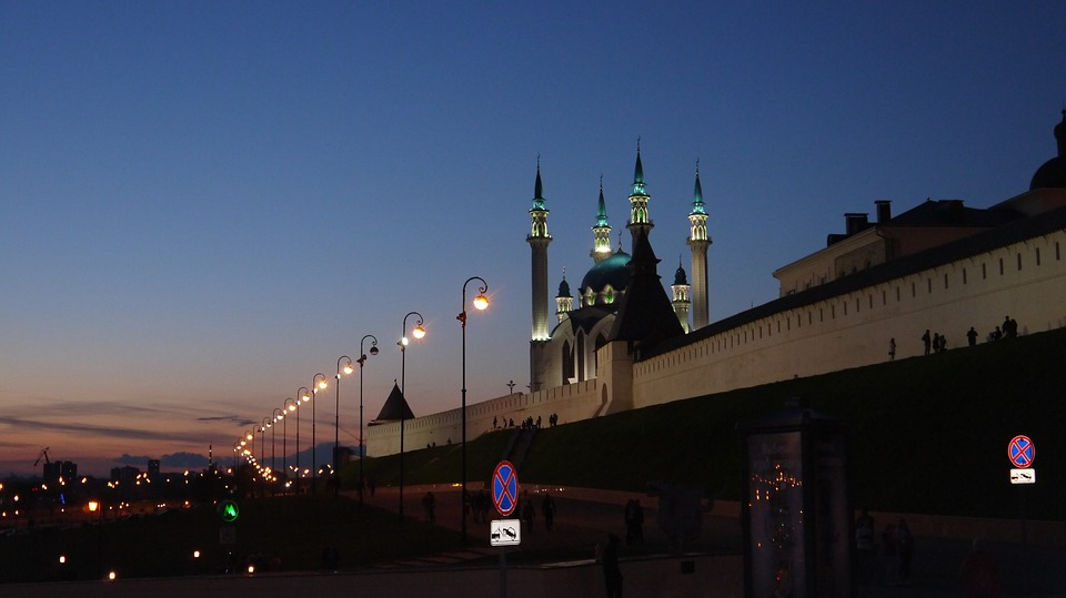 Kazan, top attraction sites in the host cities