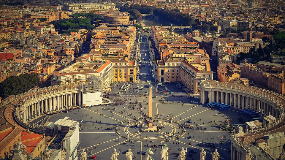 Rome, places to visit in Italy with family