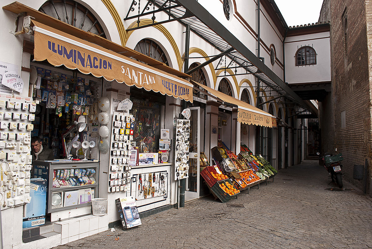 Calle Feria,places to shop in Spain