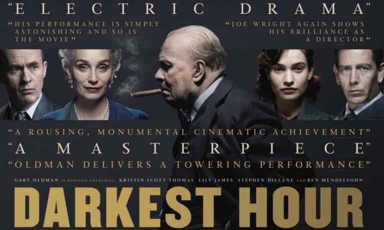 darkest hour, Oscar nominated movies