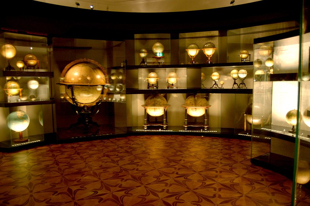 Globe museum, unusual things to do in austria