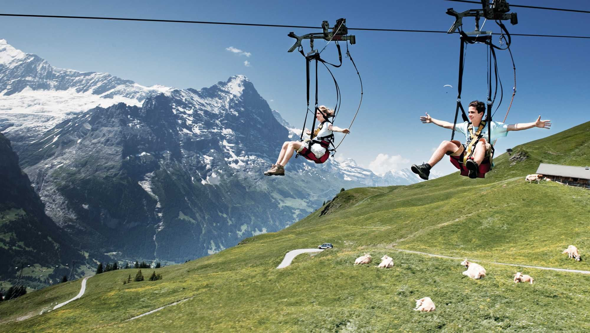 Grindelwald , Top adventurous activities for your Switzerland holiday