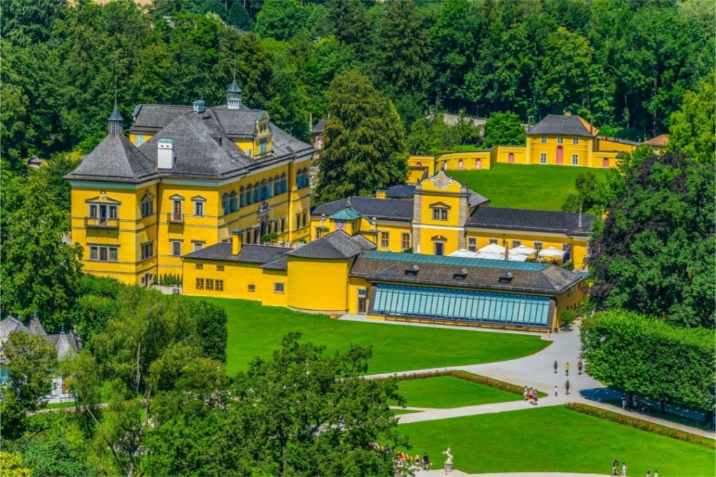 things to do in Salzburg, Hellbrunn Palace