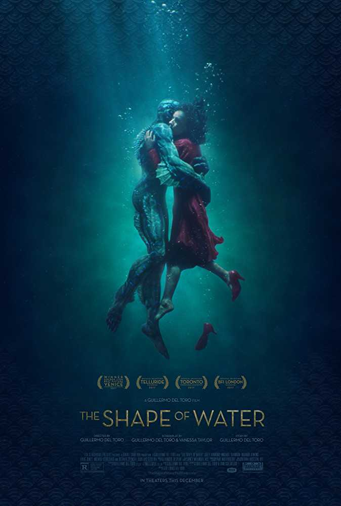 The shape of water, Oscar nominated movies