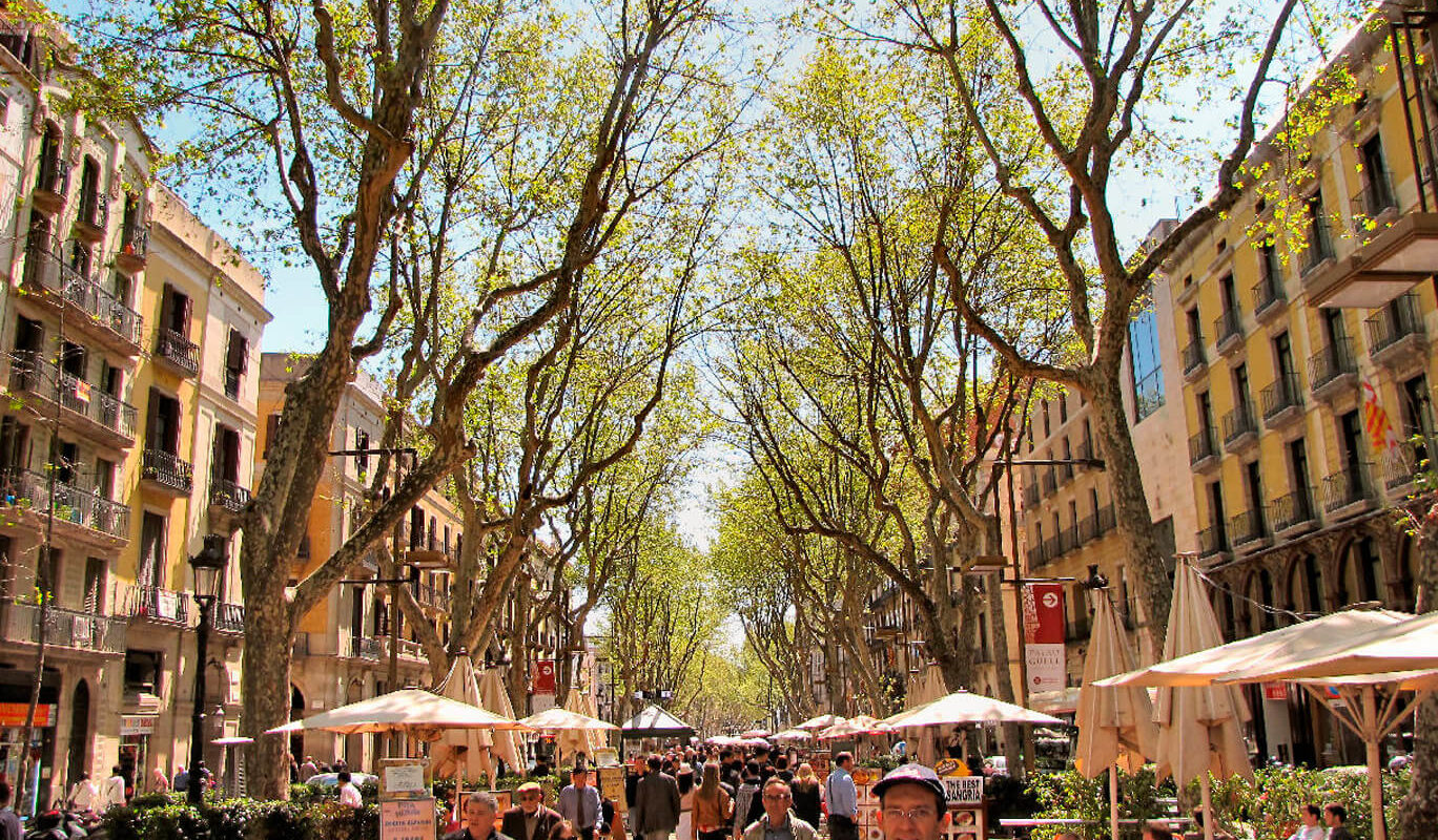 Las Ramblas,things to do in Barcelona