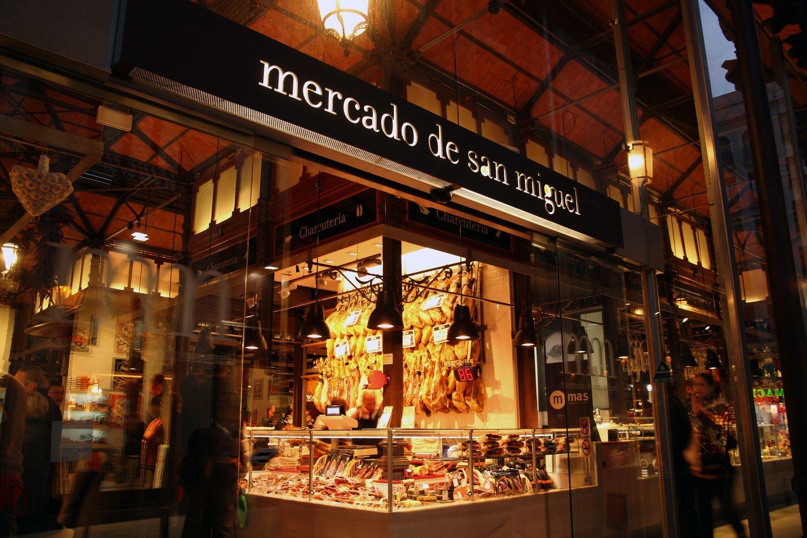 Mercado San Miguel,places to shop in Spain