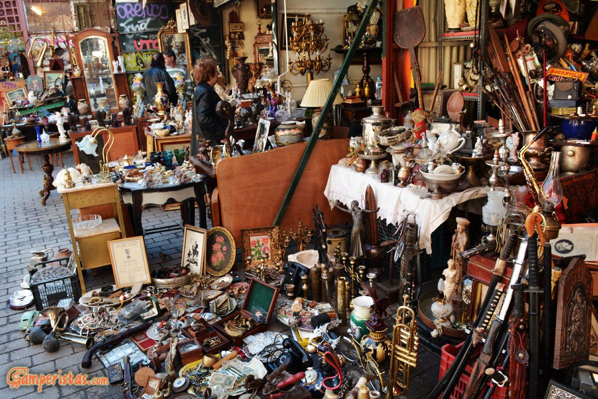 Monastiraki Flea Market,offbeat things to do in Athens
