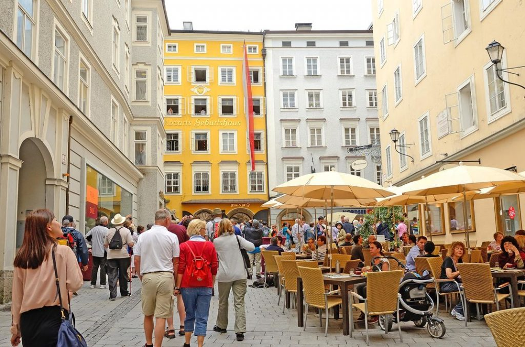 things to do in Salzburg, Mozarts birthplace