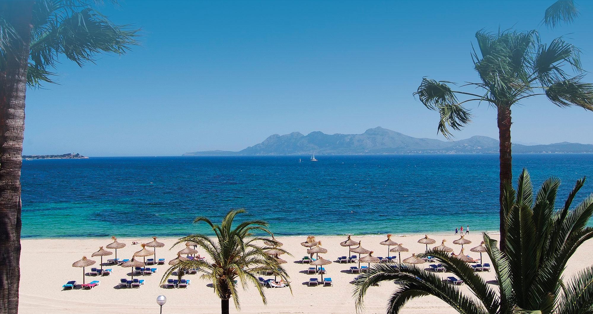 Puerto Pollensa,beaches in Spain