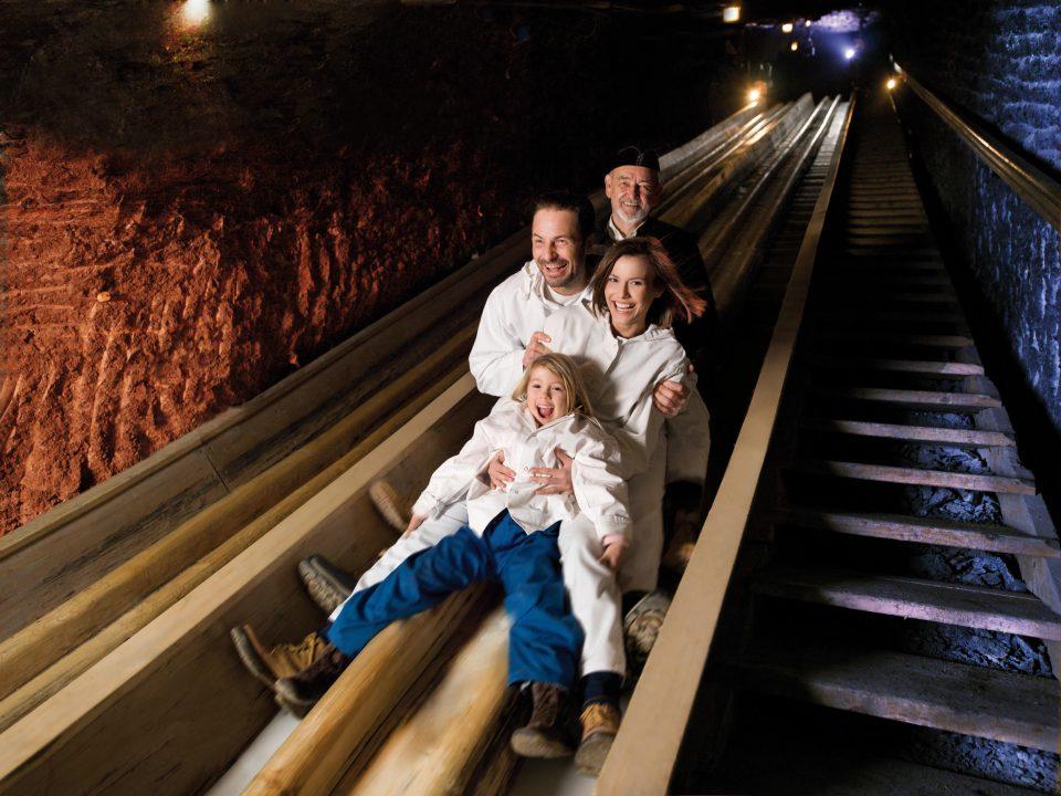Salt Mines in Salzburg