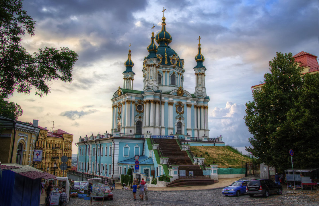 St. Andrew Church,places to visit in Kiev