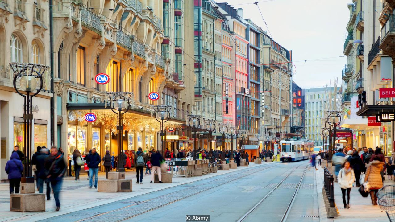 geneva, Top places to shop in Switzerland
