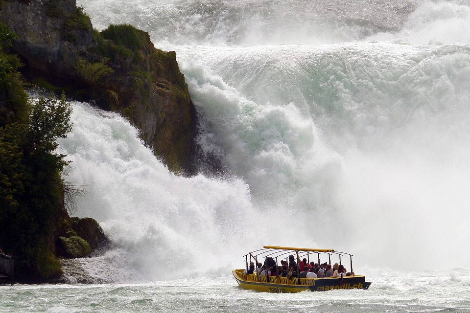 Rhine waterfalls, Top adventurous activities for your Switzerland holidays