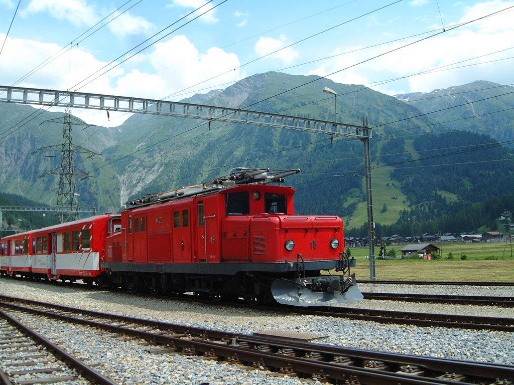 BVZ railway,Top places to visit in Zermatt