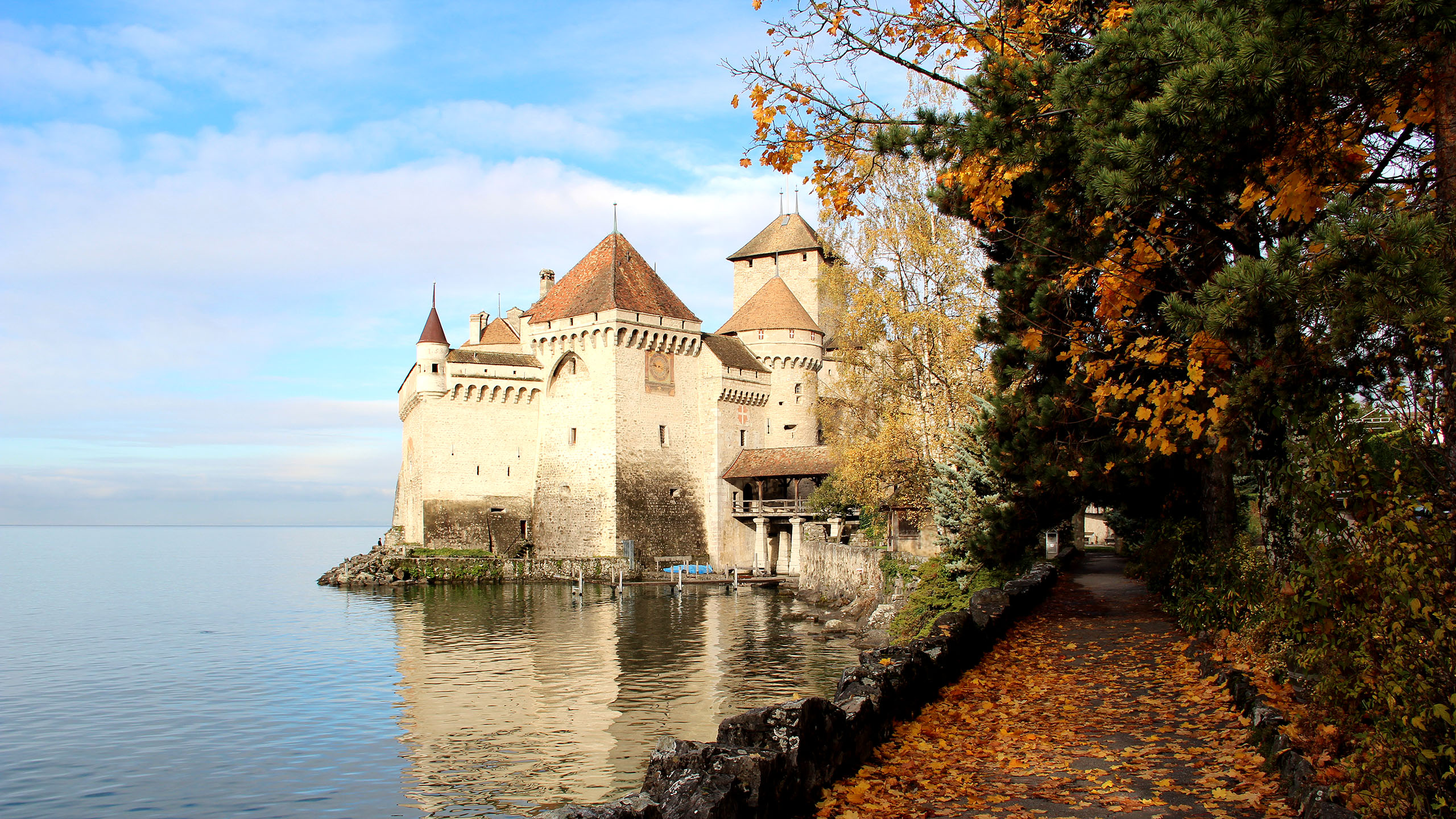 Château de Chillon,things to do in Montreux