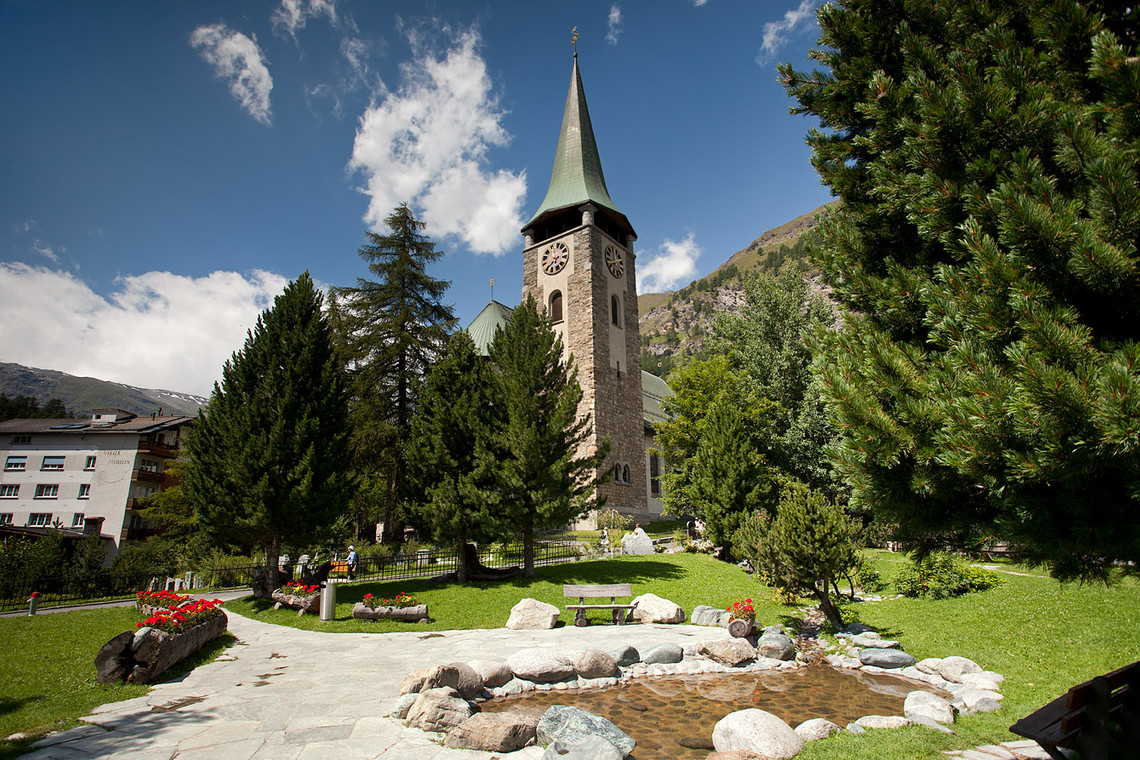 English Church,Top places to visit in Zermatt