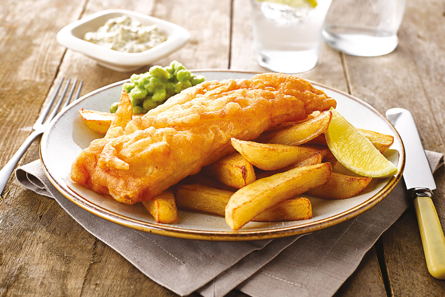 Fish and chips,Top must-eats in the UK