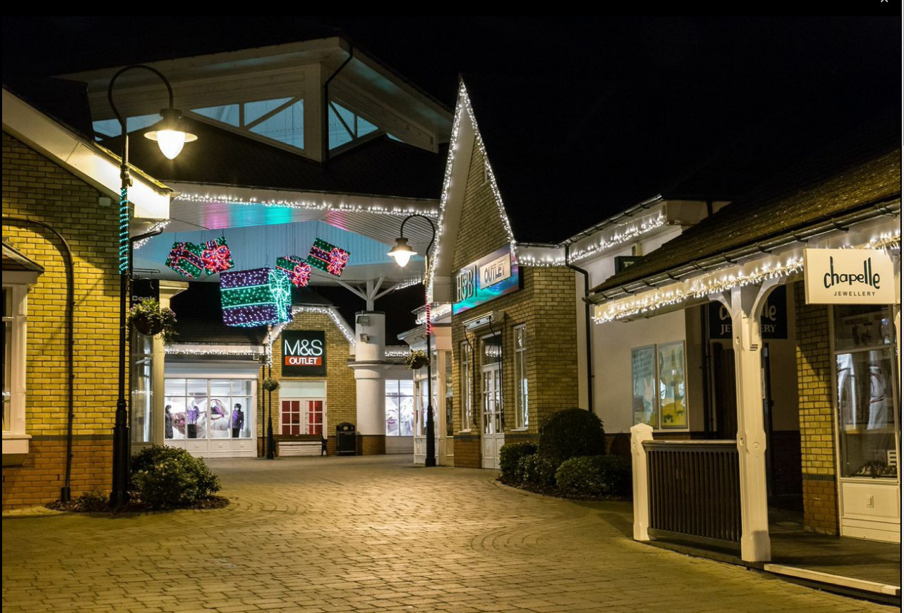The Freeport Braintree, places to shop in the UK