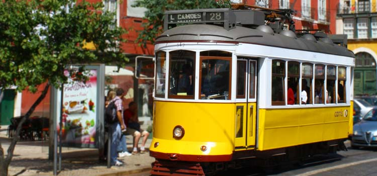 Ride Tram 28,places to visit in Lisbon
