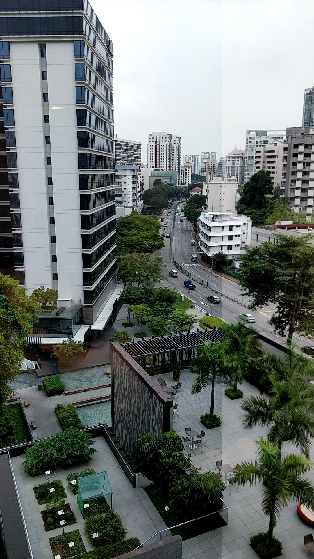 View from Zongshan mall, Singapore