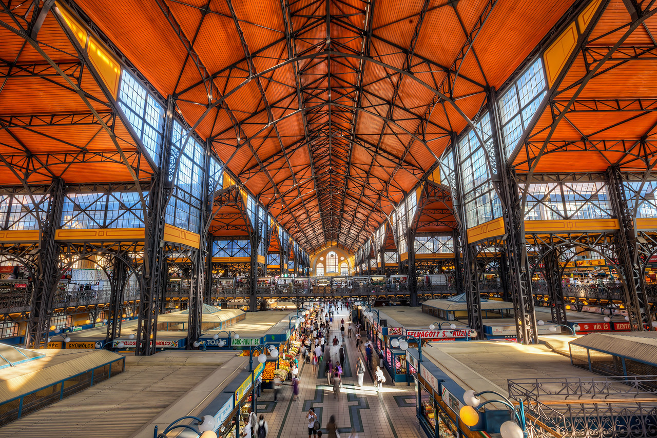 Great Market,free things to do in Budapest