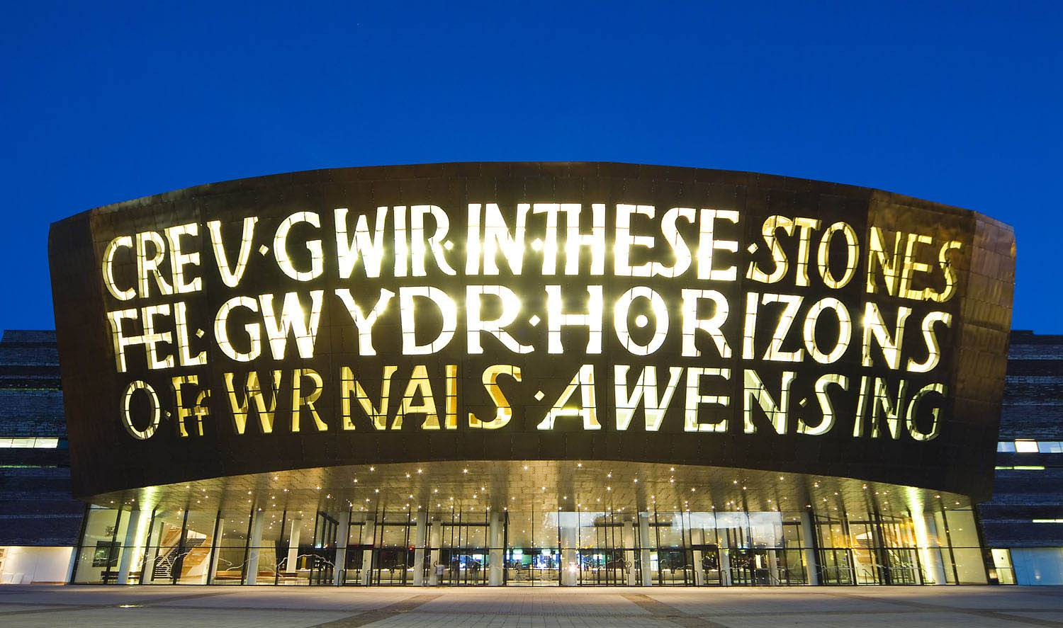 Wales Millennium Centre ,best places to visit in the UK
