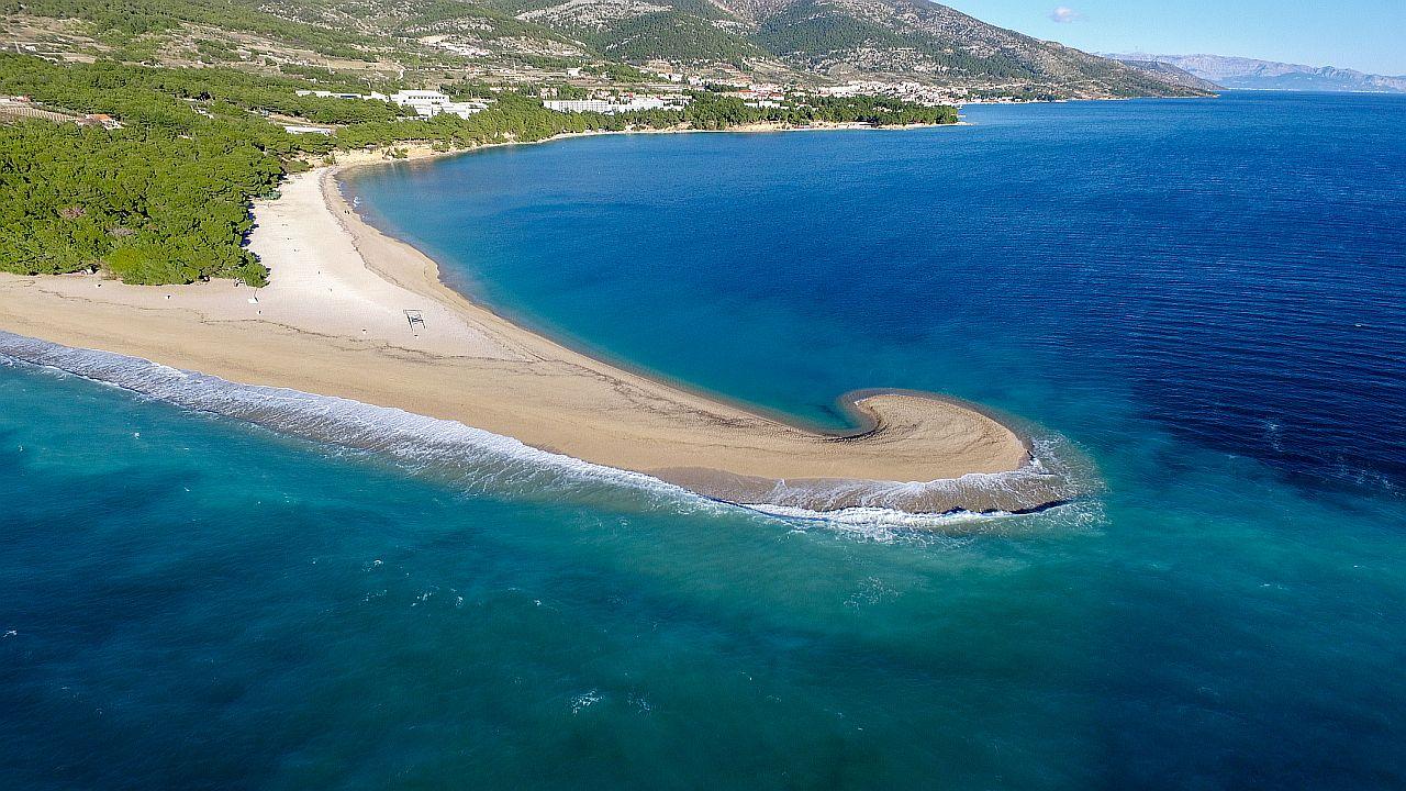 Zlatni Rat beach,things to do in Croatia