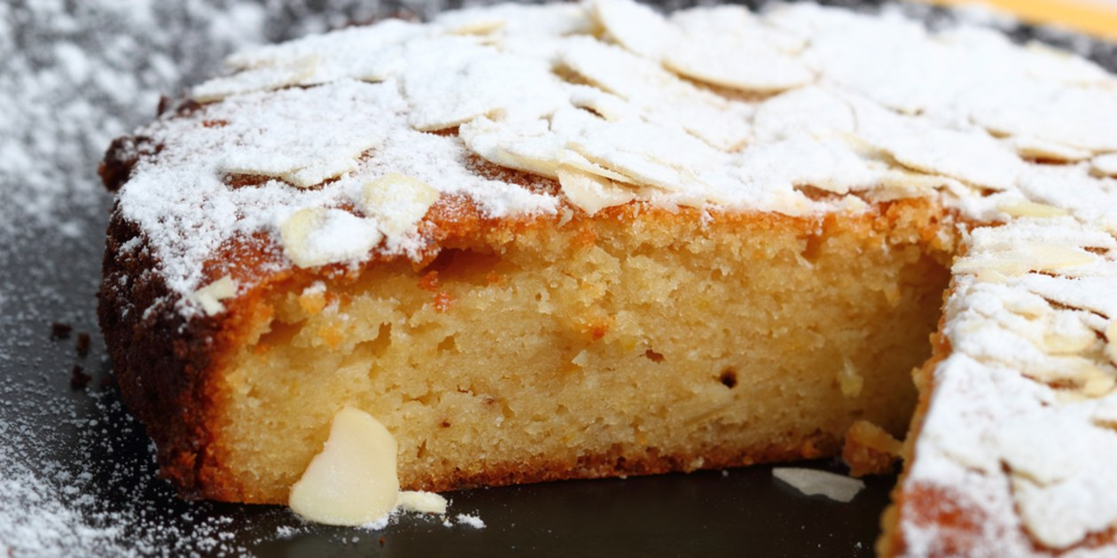 Almond cake,must eats in Croatia